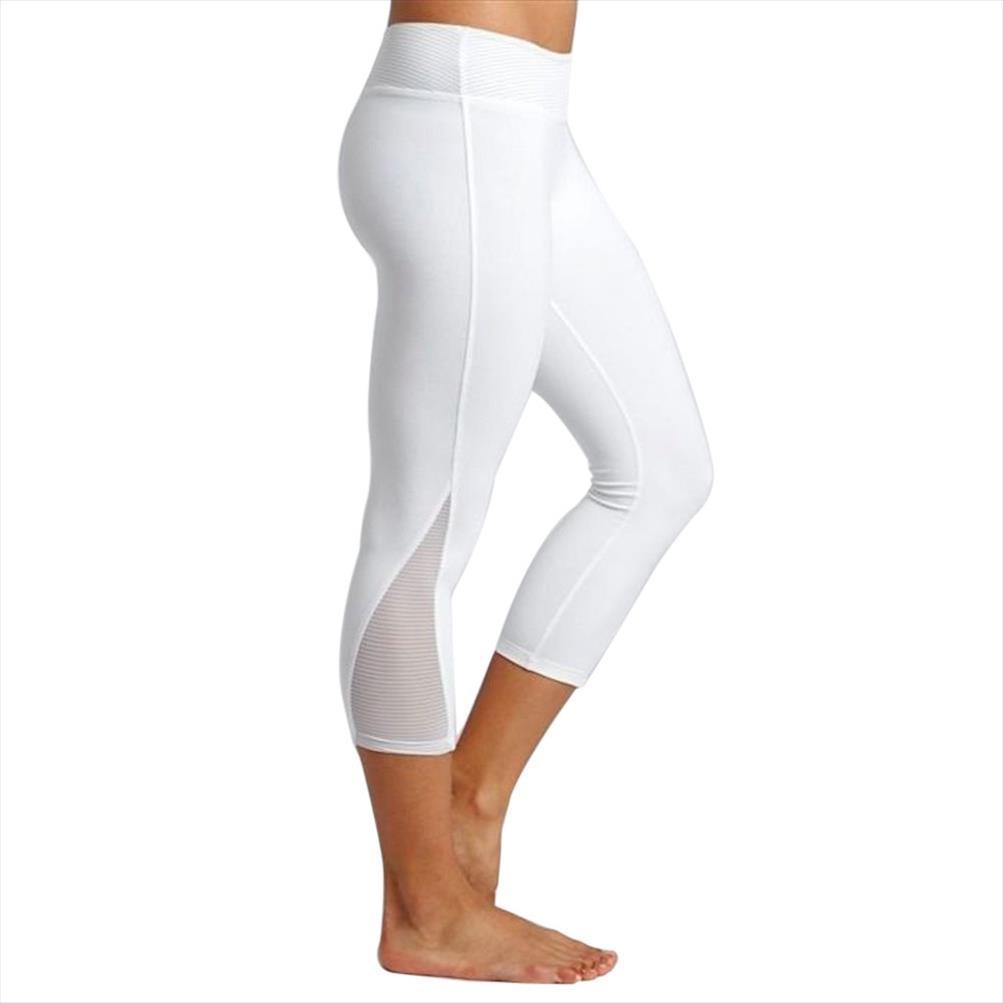 Femmes Leggings Fitness Sports 3 4 Pantalons Longueur sport Pantalons stretch été Corsaires Pantalons Pantalons Pantalon Mujer Leggin 5 $