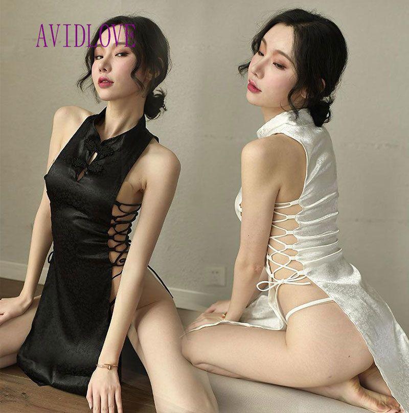 Hot Hot cheongsam cosplay jupe style pour le sexe Lingerie Japonais Chinois Livraison gratuite Produits