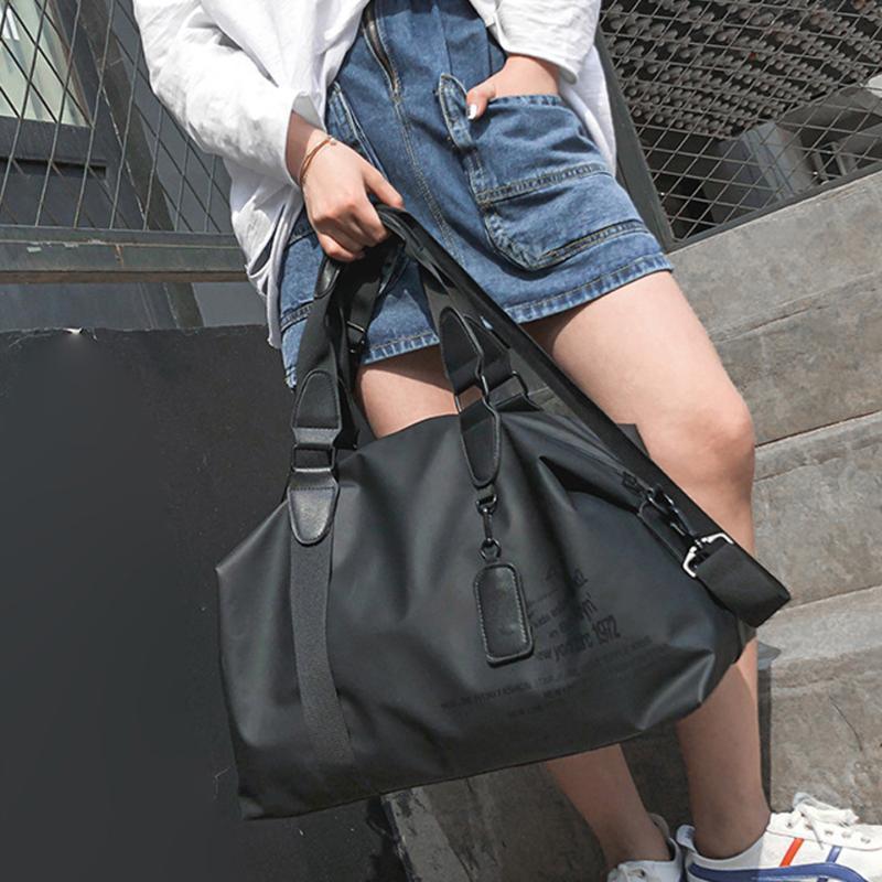 Mujeres largos cortos casuales viajes bolso de viaje hombres grandes bolsas de equipaje Mensajero de moda Bolsos de hombros Bolsos de lona Bolso Crossbody