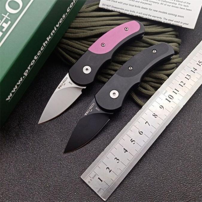 protech Runt J4 única ação tática autodefesa dobrável bolso caça EDC faca de acampamento faca de caça facas xmas a3152 presente