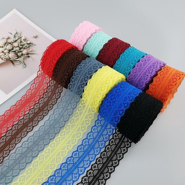 10 meters lace 3cm polyester hollow non-elastic lace fabric underwear umbrella accessories bouquet lace small side