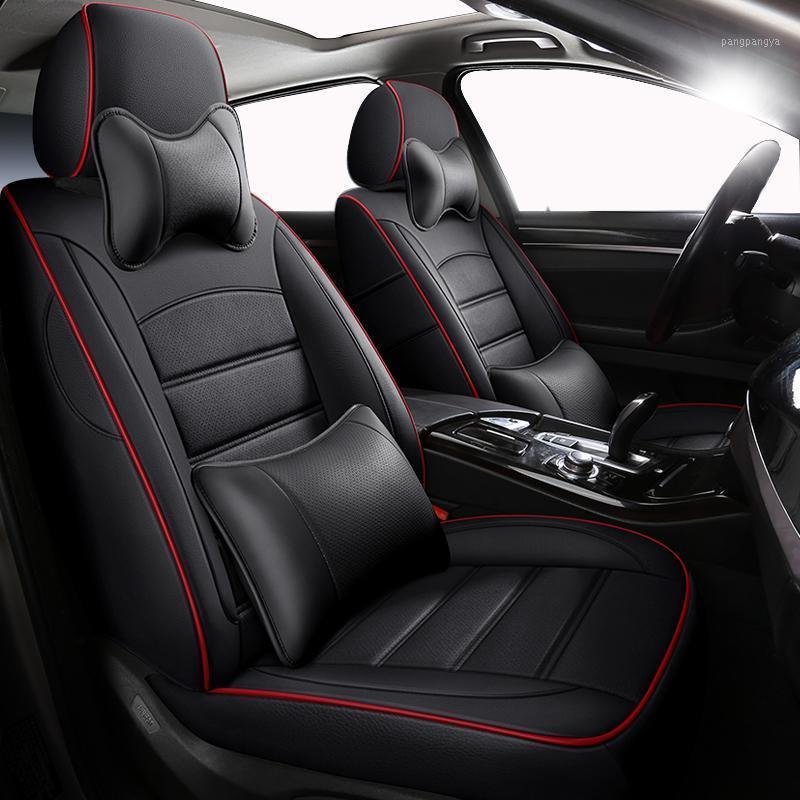 ZHOUSHENGLEE Custom car seat covers For seat altea xl arona ateca cordoba ibiza 6j 6l car accessories auto cushion protector1