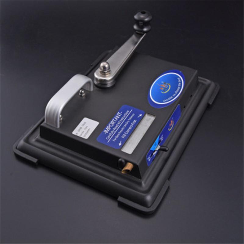 새로운 디자인의 담배 메이커 수동 금속 자동 담배 압연 기계 롤러 일치 빈 담배 파이프 빈 연기 파이프