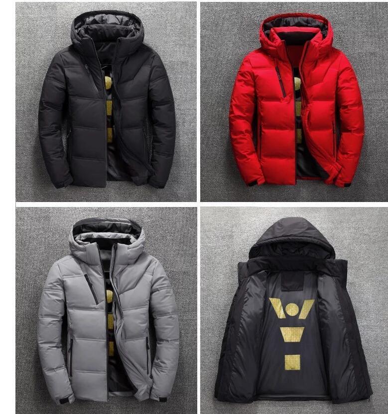 الملابس الجديدة شمال الشتاء الرجال أسفل الستر سترة تدفئة أسفل معطف لينة الأصداف القبعات في الهواء الطلق سميكة ملابس خارجية وجه رجل دثار