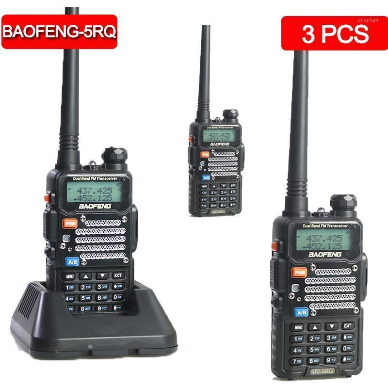 3pcs Baofeng UV-5Rq Walkie Walkie Talkie CB Transceptor Radio Portable Radio para Hunt Forest City Walkie-Talkie Comunicador1