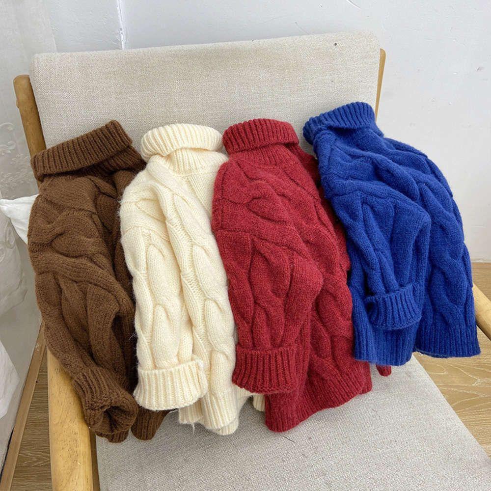 Cheveux ClothestHickened Sle Winter pour enfants Qinqi Twist Film Switout Pull Chaud Sweater