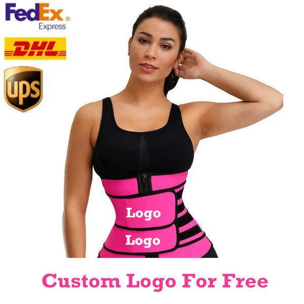 مجانا مخصص شعار الرجال النساء صائغي الخصر المدرب حزام مشد البطن التخسيس ملابس داخلية تعديل الخصر دعم صائغي الجسم FY8084