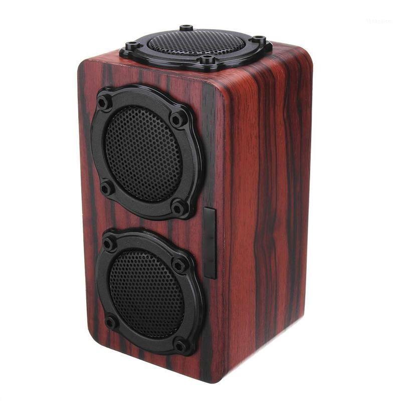 Wireless Bluetooth Speaker Wood Subwoofer o Bluetooth Speaker Hi-Fi Fm Radio Portable Outdoor Subwoofer Music Player1