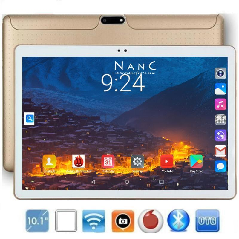 Tablet PC 2021 Est Version 10.1 Inch Octa Core 6GB RAM 128GB ROM 1280*800 IPS GPS WiFi 10 Tablets For Kids Android1