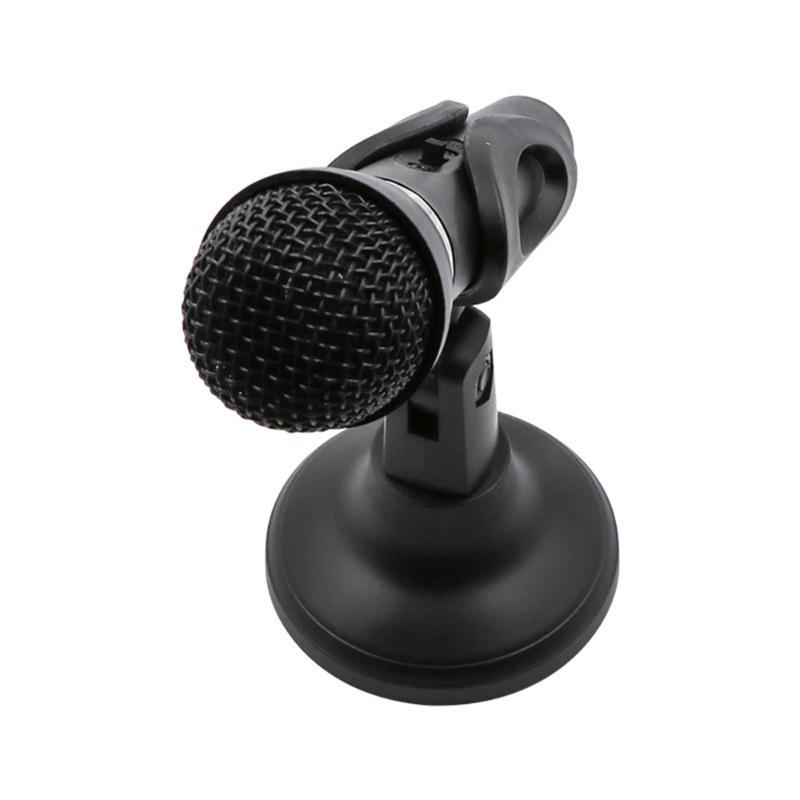 Recording Condenser Microphone mobile phone microphone 3.5mm Jack for Computer PC Karaoke mic for phone