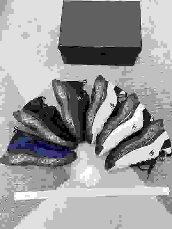 Yeni Sezon Ayakkabı Moda Kadın Ayakkabı Erkek Deri Lace Up Platformu Sole Sneakers Ayakkabı jm200812