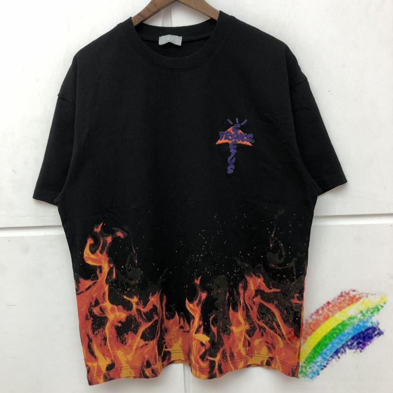 Top T-shirts Neue Frauen Männer Tees High Hemd Muster Waschen T-Qualitäts-Stickerei Ibnid