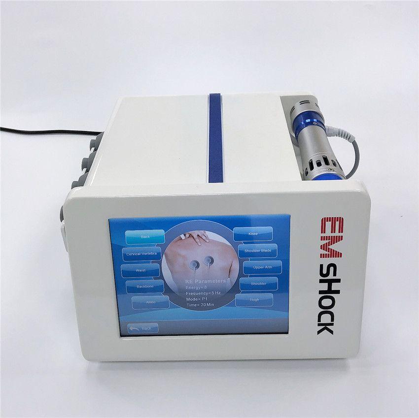 Home Verwendung Emshock Shockwave-Therapie Machien für ED-Treations-Hone Verwenden Sie physische Stoßwellen-Therapie-Maschine für Körperschmerzlinderung