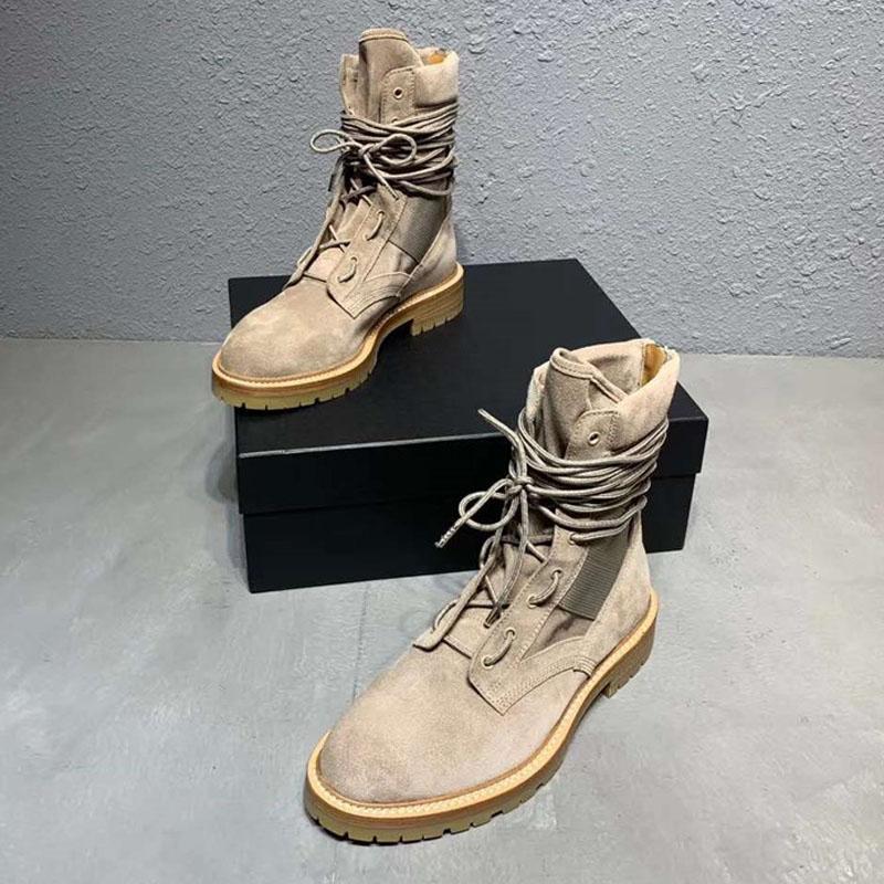Муж Desert Boots Дышащие Мужчины Военный Загрузочный High Top Army Boots 12 # 20 / 20e50