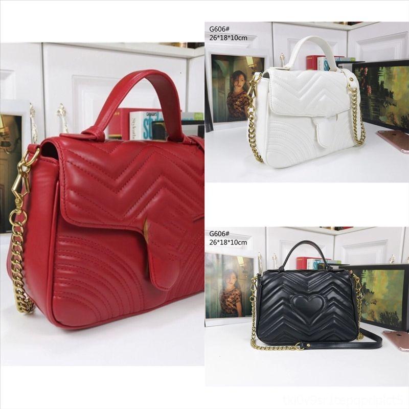 W8msd Nylon polychromatische Frauen Hohe Schulterhandtasche Baguette Tasche Handtasche Lady Luxus Ecwio