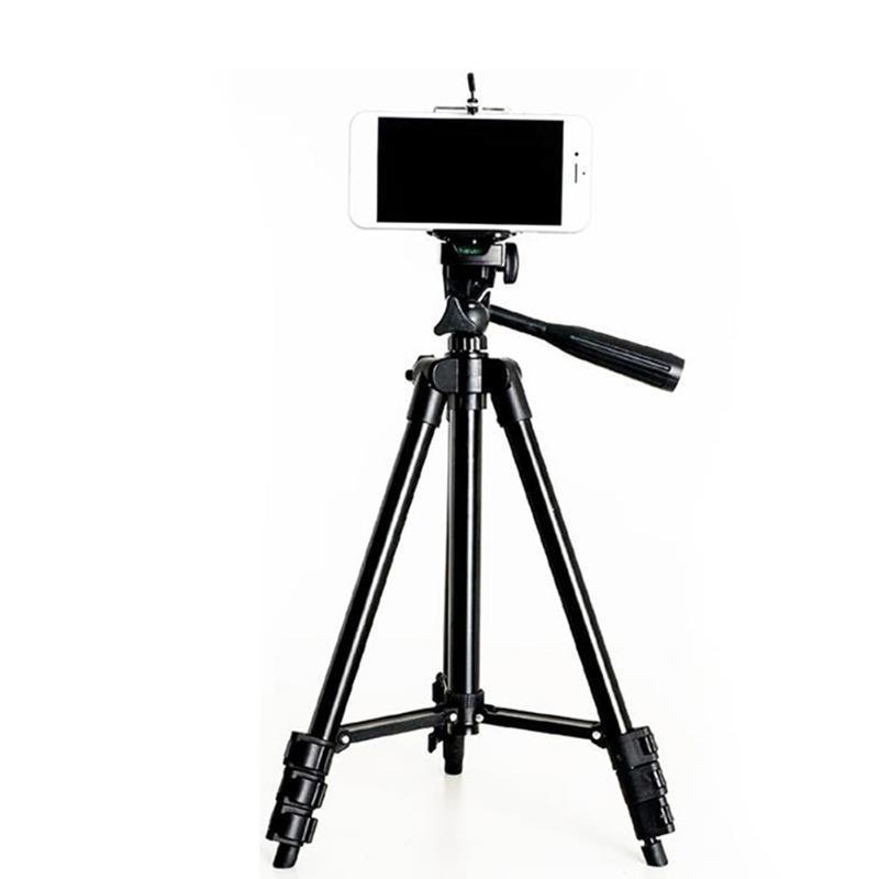 Extensible réglable pour trépied Support clip caméra durable Phone Holder Support PUO88