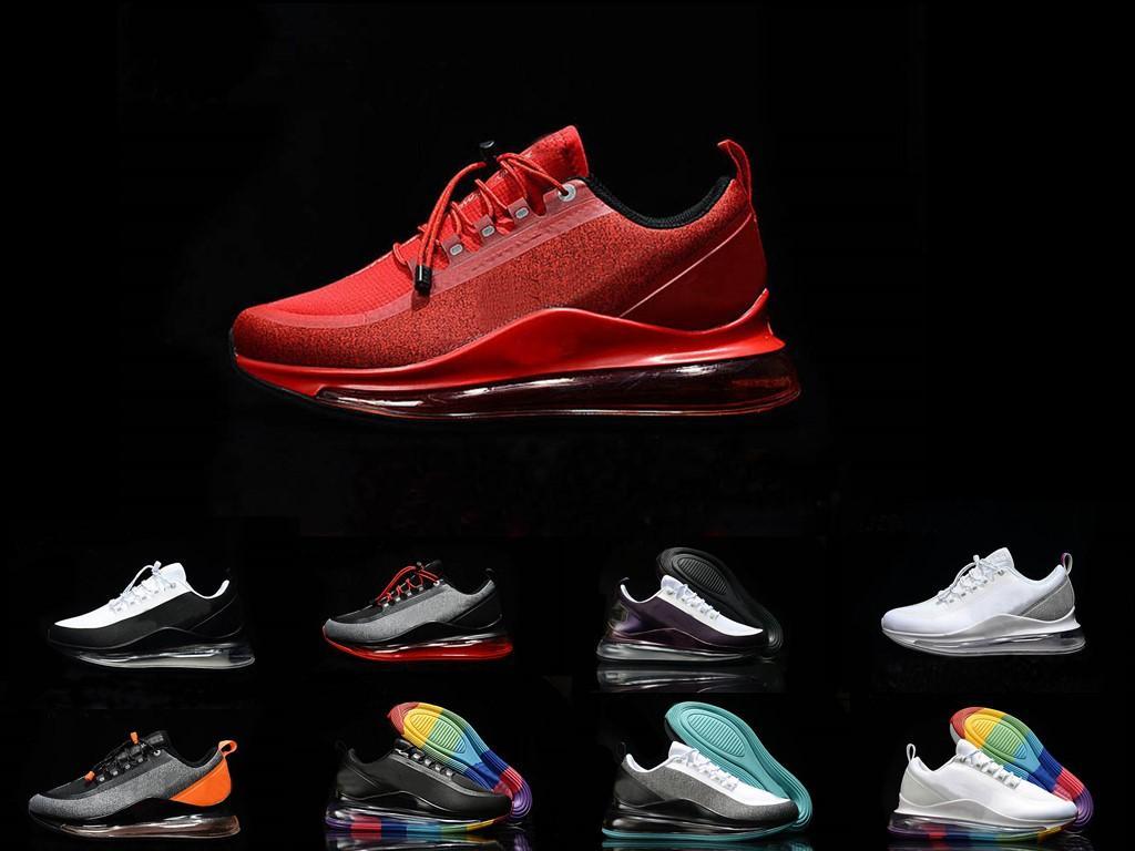 max 720 2020 Männer Frauen 72C Laufschuhe Ausbildung Chaussures Triple Black Weiß Grau Sportschuh Outdoor-Turnschuhe beiläufige Turnschuhe Schuhgröße 36-45