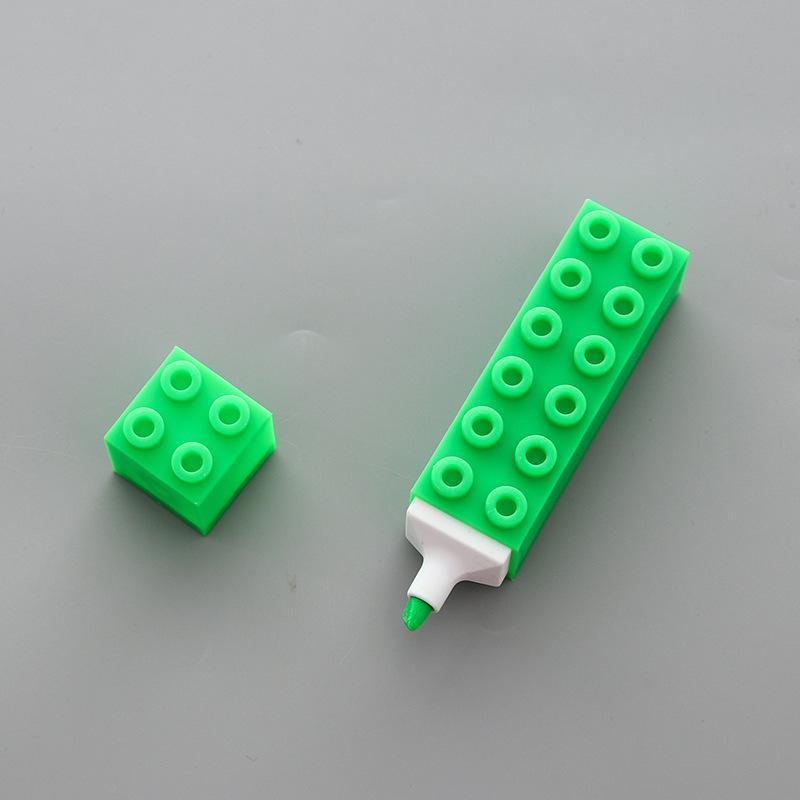 Забавный блок моделирования Highlighter Pen фломастеров Kawaii Канцтовары Материал Escolar Papelaria Письменные Школьные принадлежности Подарочные Ygb14 tsetIov