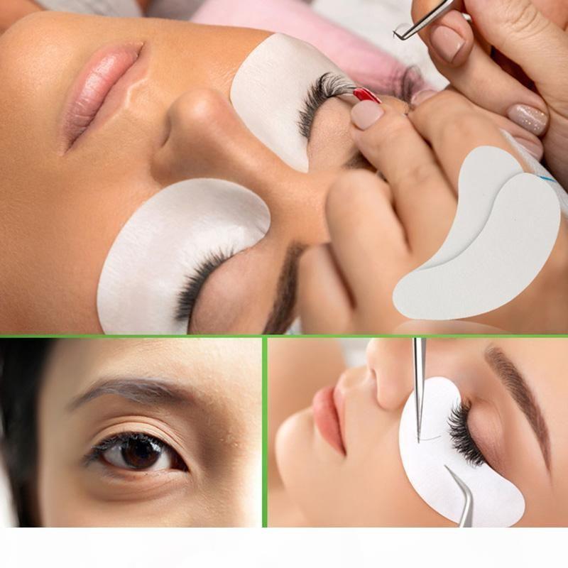 6000pcs Thin Гидрогель Eye Patch для наращивания ресниц Под Eye Patches Гелевых Подкладок Moisture Eye Mask Оптовыми