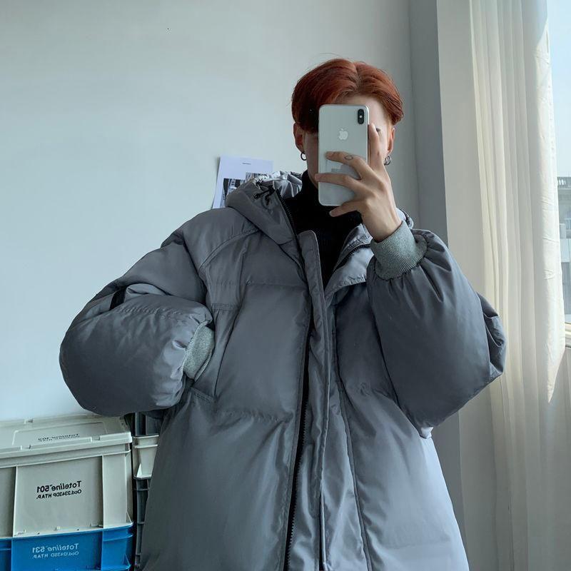 nuevos amantes encapuchados de algodón acolchado ropa de invierno 2020 otoño de los hombres espesan algodón acolchado ropa casual los hombres de la juventud