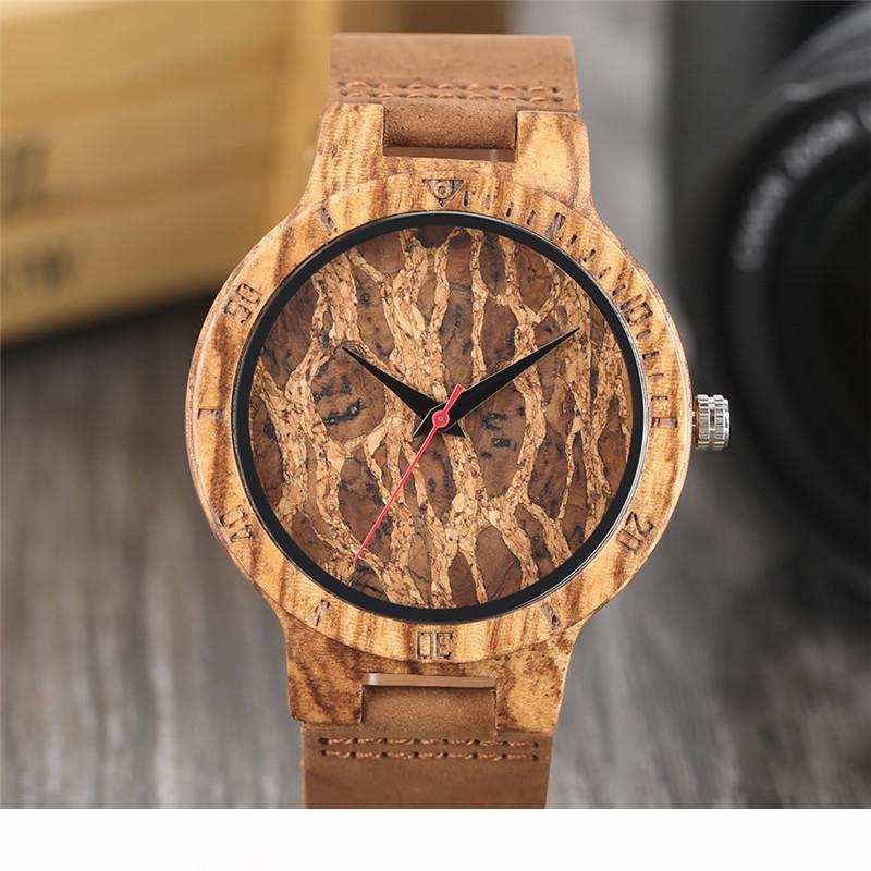 Природа Деревянные Cork Часы ручной работы Пиво набор мужской Novel Deco кварцевые наручные часы Прохладный подарок для вина Fans Relogio Мужчина для