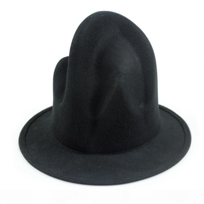 chapéu partido do estilo da celebridade de Moda de Nova Mulheres Homens% lã Montanha Hat Pharrell Williams Wasten novidade Buffalo