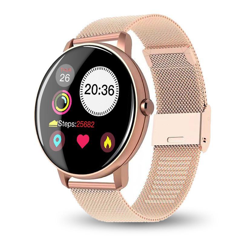 Braccialetto di misurazione della pressione sanguigna Fitness Impermeabile Smart Band Smart Band Guarda la frequenza cardiaca per le donne