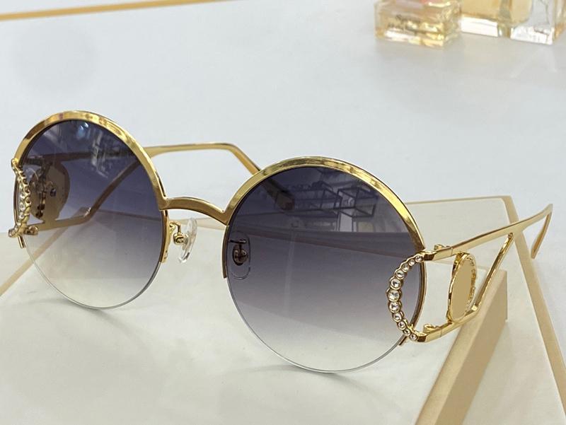 2094 Gafas de sol Redondo Gafas de sol Calidad para el estilo de marco Rectángulo Rectángulo Full Top Ven Ven UV Protección Moda con paquete Moda Summe NoHP