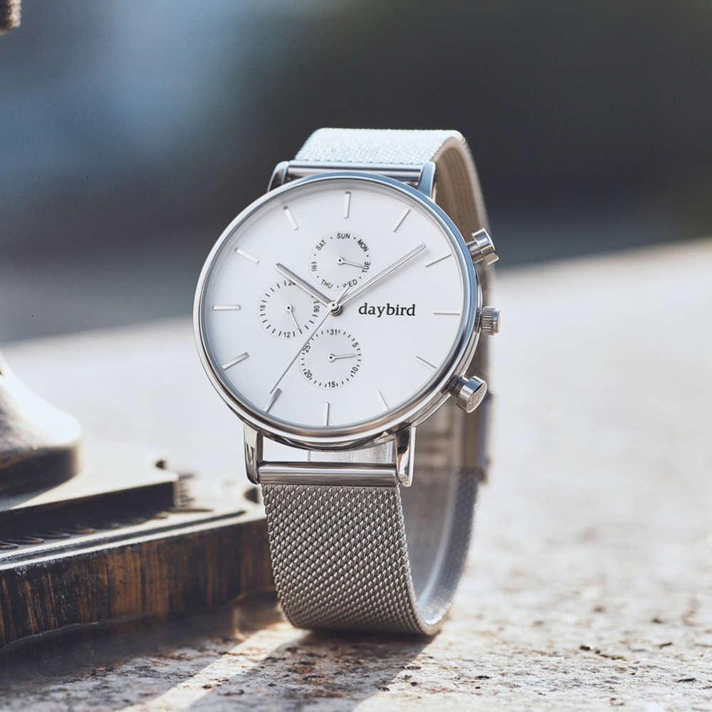 Студент Простые Новые Мужские Современные Кварцевые 2019 Часы Мода Trend Trend Досуг Высокие Конец Водонепроницаемые Светящиеся Часы