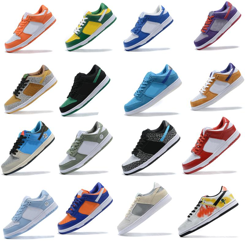 2020 dunk Chunky Dunky Low men women causal shoes University Red green bear Kentucky Syracuse Safari womens sports sneakers size 36-45