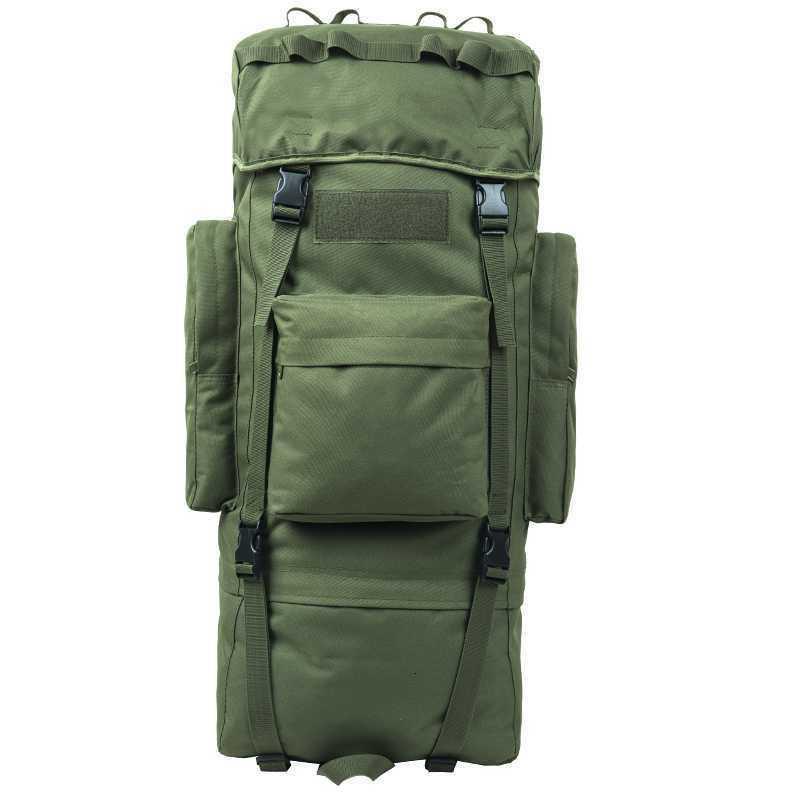 100l gran capacidad de viaje bolsa de equipaje mochila al aire libre escalada caminata camping nylon impermeable camuflaje bolsas de hombro mochila