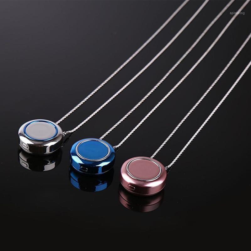 Очиститель очистителей воздуха USB портативное личное ожерелье отрицательный ион свежий