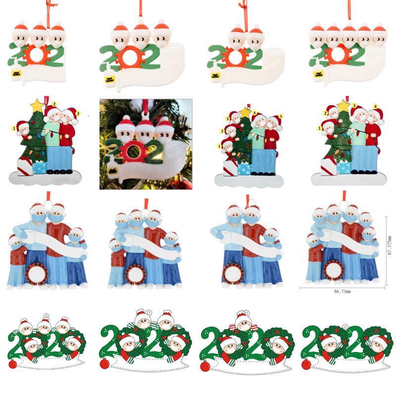 ornements usine prix personnalisés de Noël 2020 quarantaine ornements ornements d'arbre de Noël dans les 72 heures pas cher livraison rapide del