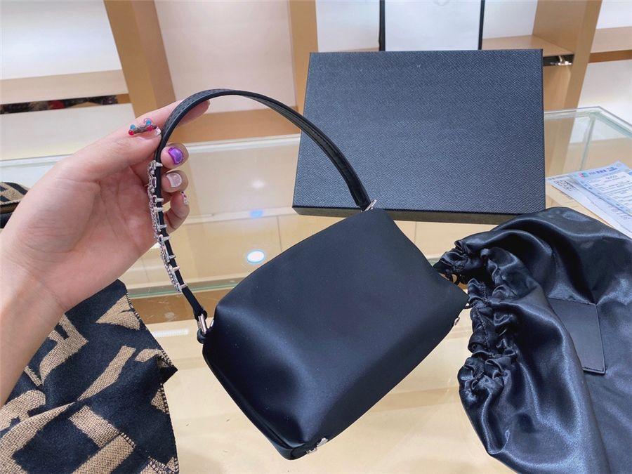 Koreaner Vintage Leder Handinsiamant Tasche Schulter Insdiamant Tasche Frauen Handindiamond Bag InsWomen Geldbörsen Bla Ess Insdiamant Baguette CL # 31833111