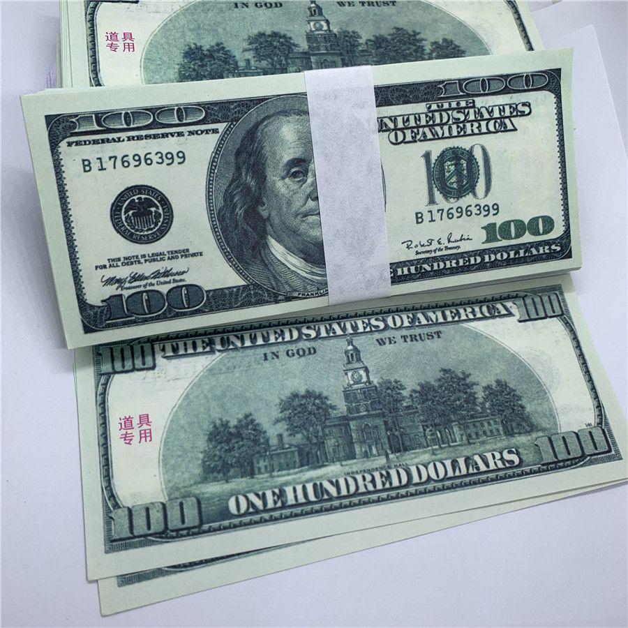 Leistung o1 bar kinder hxmrv spielzeug u.currency alte 100 kopieren banknoten schießen dollar geld proquiden gefälschte nrllj