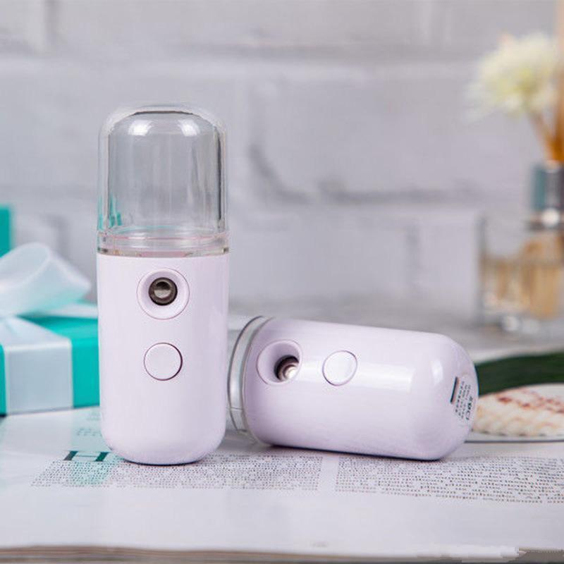 Sprühgerät tragbare USB-Feuchtigkeits-Spray Mist Spray, USB aufladbare Mini-Schönheits-Instrument freies schnelles Meer Versand FWE2240