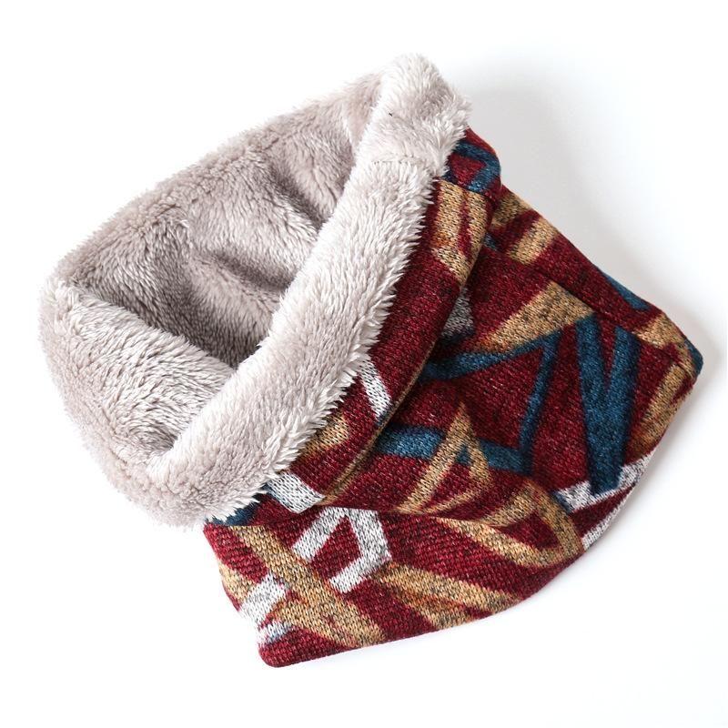 Зимний теплый шарф кольцо Женщины Neckwear Мужчины Soft Design Мех Вязаные платок Новый