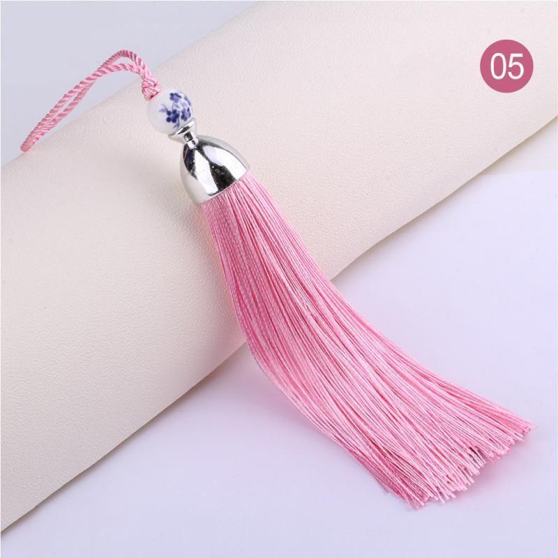 2pcs New Style Wine Glass Tassels Curtain Garments Decorative Accessories Diy Key Cell Phone Bag Fringe Trim Tassels Pendants H sqcovZ