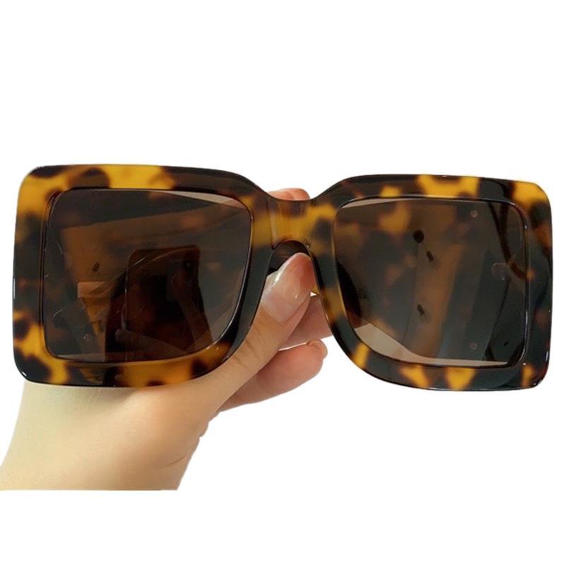 Overszied площади Солнцезащитные очки для женщин Мужчины 2020 Brand Big Wide Leg Солнцезащитные очки UV400 Gafas De Sol