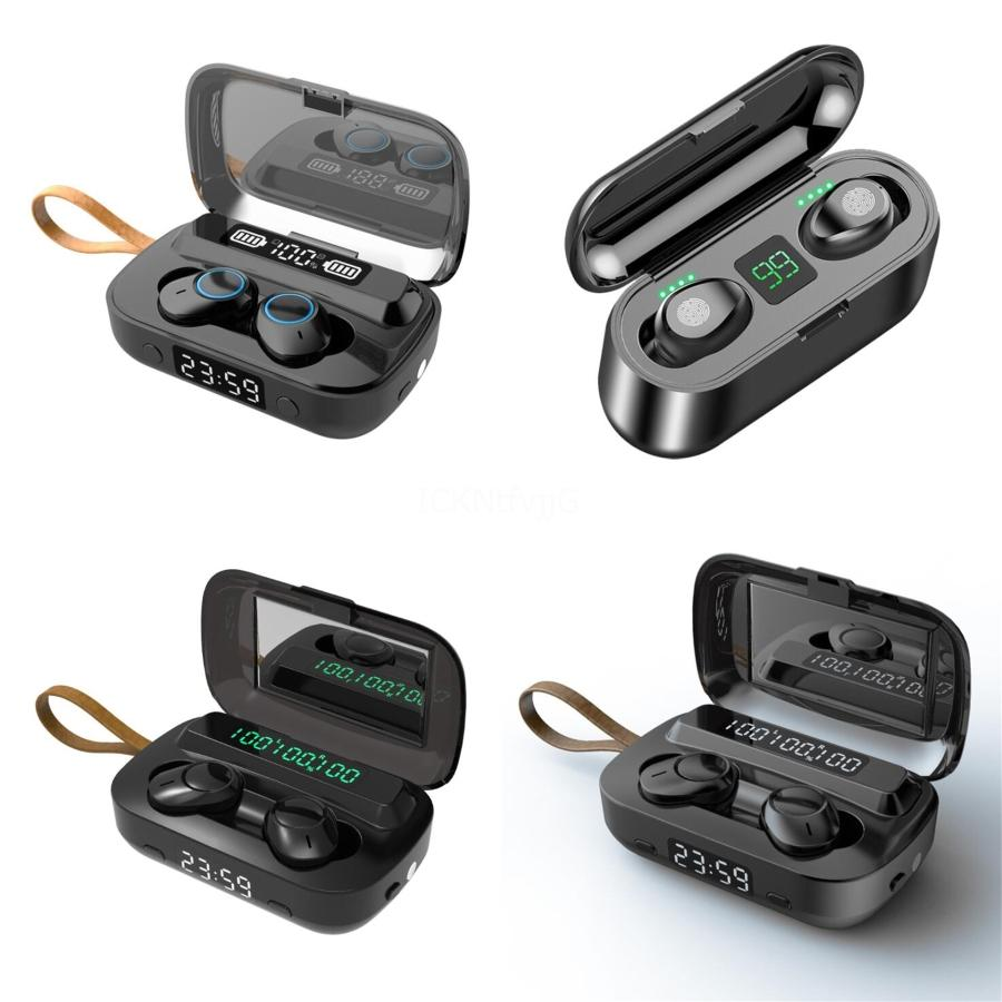 Hot Popular I7S TWS Earphones With Charge Box Charger Case Earbud Bluetooth Wireless 4.2 Music Car Headphone For IOS#496