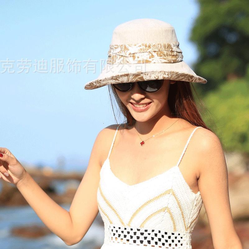 70% de descuento en New Rongmei Industria Estilo de verano Pescador plegable Pescador Casual Sunscreen Sun Hat Yjbm