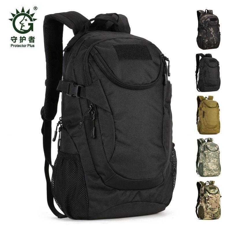 Waterproof 14'' Molle 25l Laptop Military Bag Nylon Climbing Men's Hunting Hiking Fishing Backpack For Tactical Rucksack Wqkja
