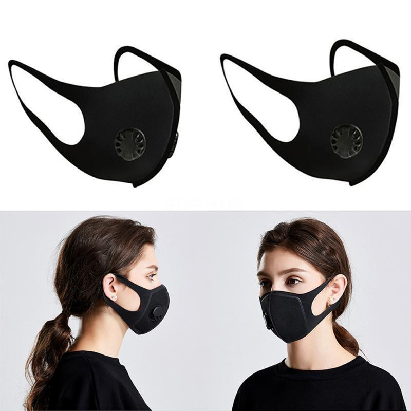 Expédition en trois dimensions! Masque anti-brouillard Slim Face Free DHL Sponge Soupve de respiration Y Haze anti-brouillard PM2.5 mm4g