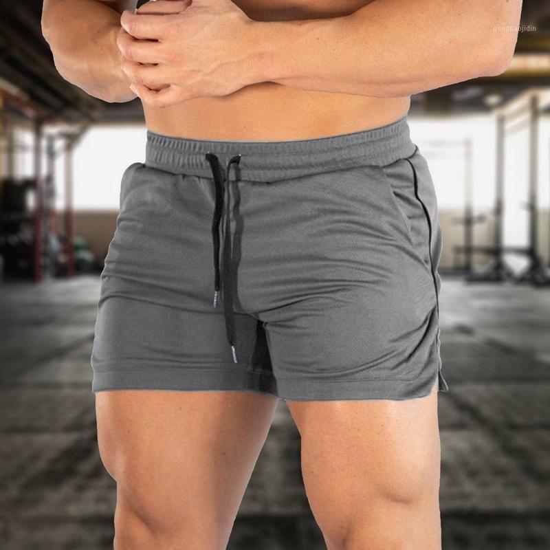 Laamei Gym shorts homens 2021 corrida jogging shorts esporte homens treinamento de fitness verão macho rápido seco movimentando calças curtas1