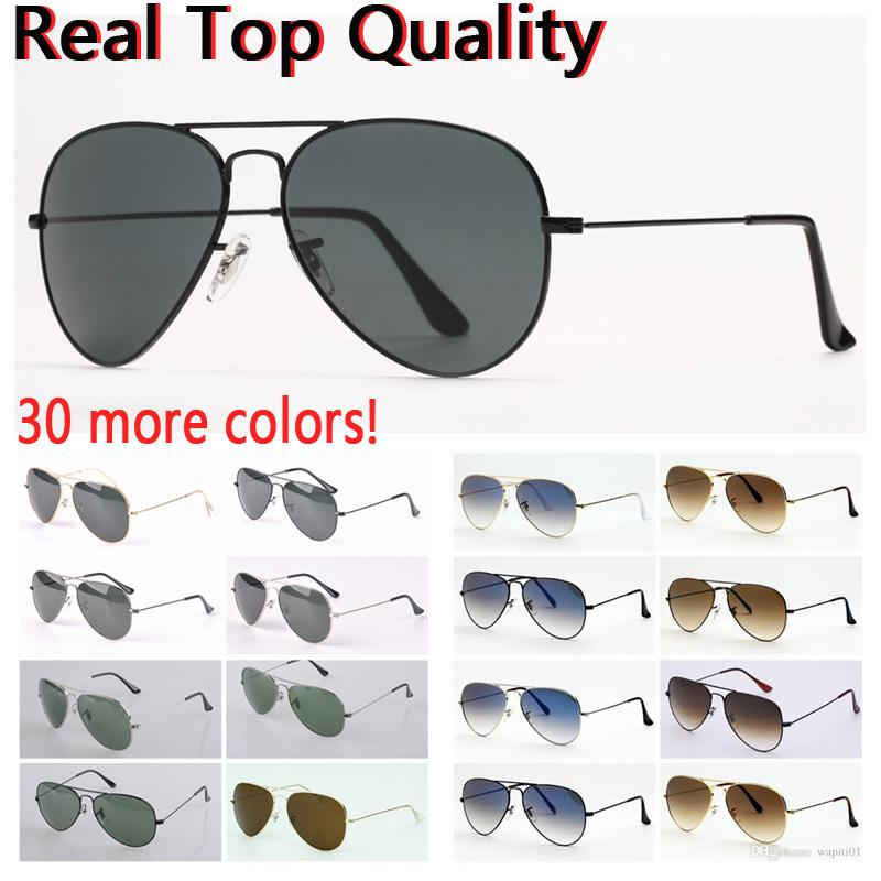 Pilot Mens sunglasses womens driving sunglass man woman sun glasses uv protection glass lenses with free leather case and retail package for men women