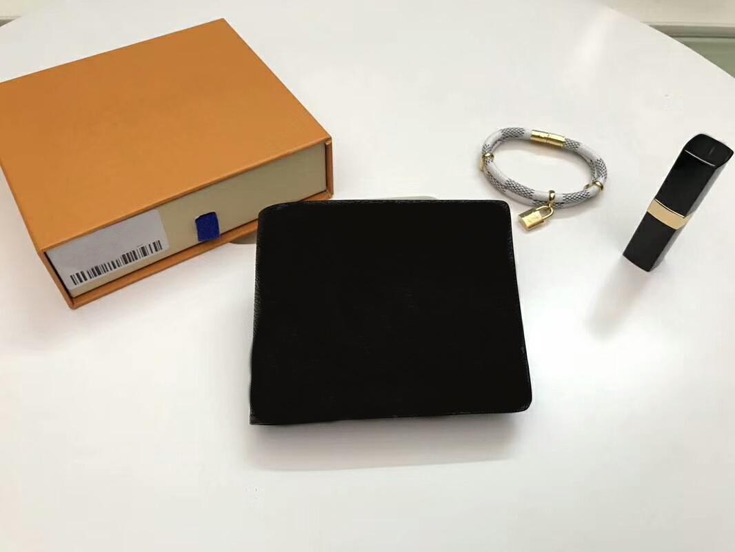 Kostenloser Versand Frauen / Männer Echtes Leder Brieftaschen Kurze Münze Kartenhalter Geldbörsen CX # 271 mit Box Staubbeutel 61695