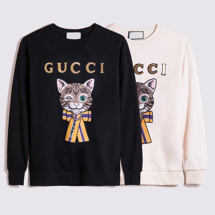 2020 Moda Hombre para hombre del estilista con capucha de alta calidad de la camiseta de los hombres mujeres sueltan el ajuste de impresión de letras con capucha S-3XL