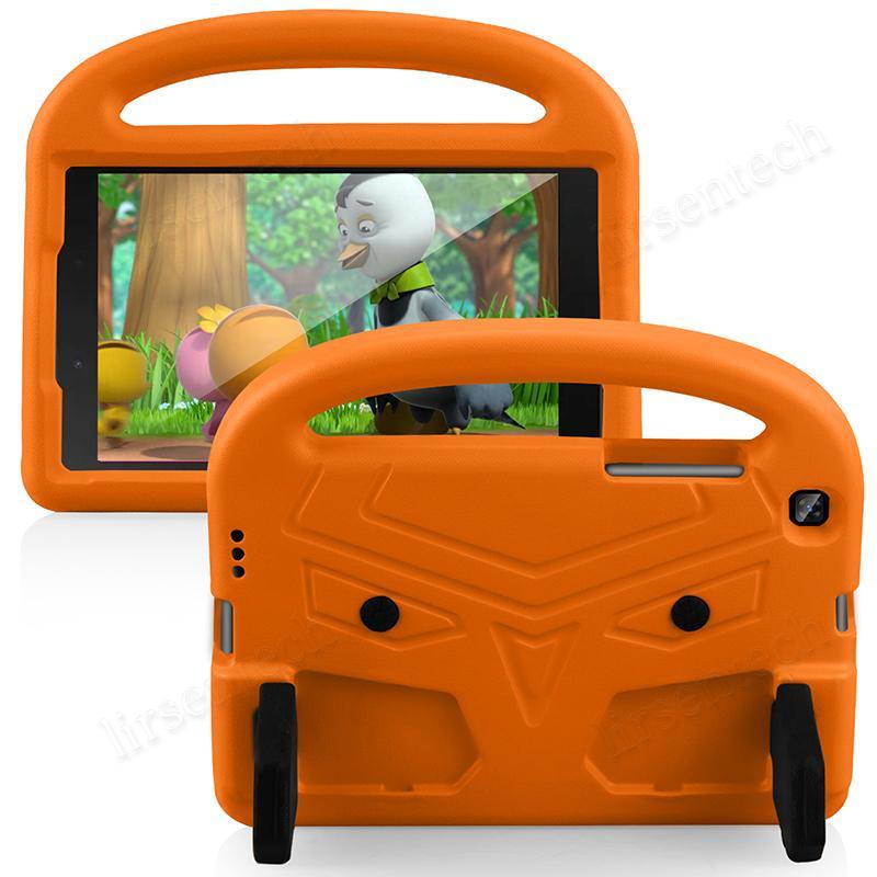 Custodia per bambini EVA leggera con manico e cavalletto per Samsung Galaxy Tab A 8.0 2019 T290 T295 T297 Tablet Cover antiurto + penna