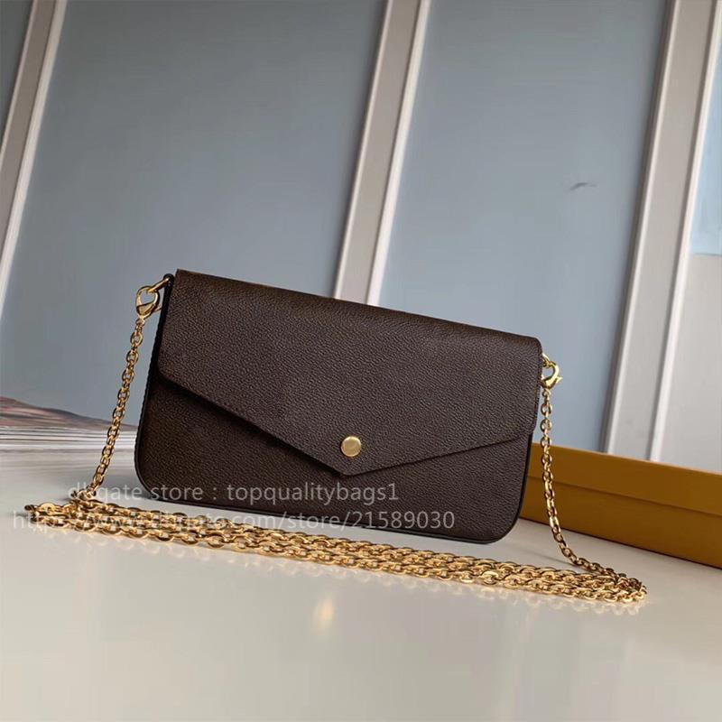 Горячая проданная мода 21 см кожа подлинные женщины свободная цепь роскошь классическая сумка сумка супин буква ключ топ поперечины плечами
