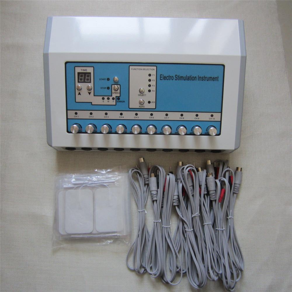 عصا الذاتي الجديد الكهربائي تحفيز آلة EMS الروسية مايكرو ويف الحالي الجسم آلة تدليك